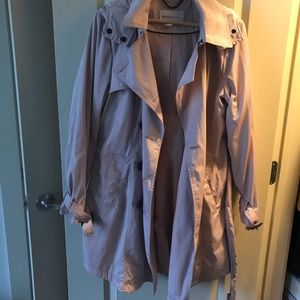 Preowned BCBGeneration Hooded Rain Coat Size L